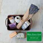 Lavender Lover's Basket of Treasures with $50 Gift Card