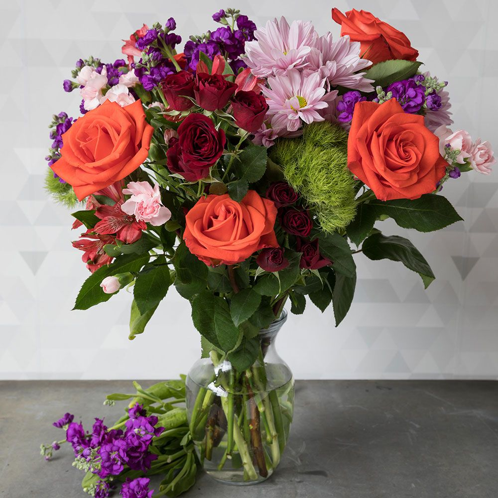 Flower bouquets mixed flower bouquets white flower farm mixed flower bouquets izmirmasajfo
