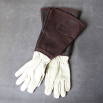 Shropshire Leather Gauntlet Gloves