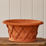 Shallow Basket Pot
