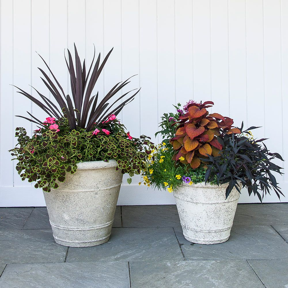 Etna Ringed Planter
