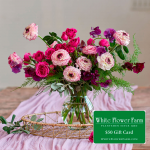 Passion Bouquet with Vase Plus $50 Gift Card - Standard Shipping Included