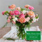 Purpose Bouquet with Vase Plus $50 Gift Card - Standard Shipping Included