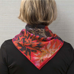 Dahlia Print Garden Bandana - Standard Shipping Included