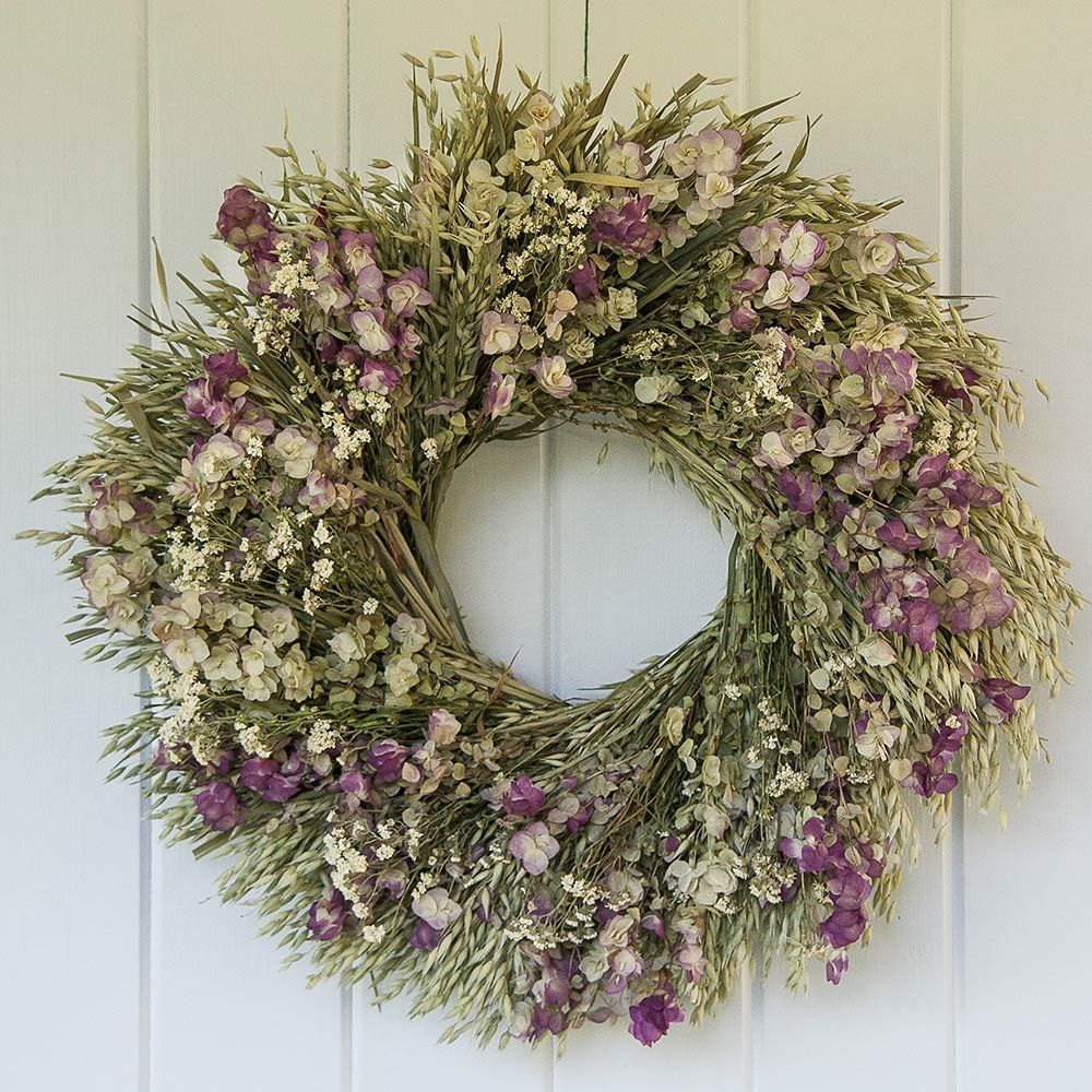 Non Christmas Winter Wreaths.Preserved Wreaths White Flower Farm