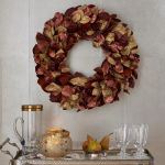 Copper Glow Autumn Wreath