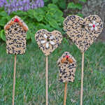 Birdseed Wands, set of 4