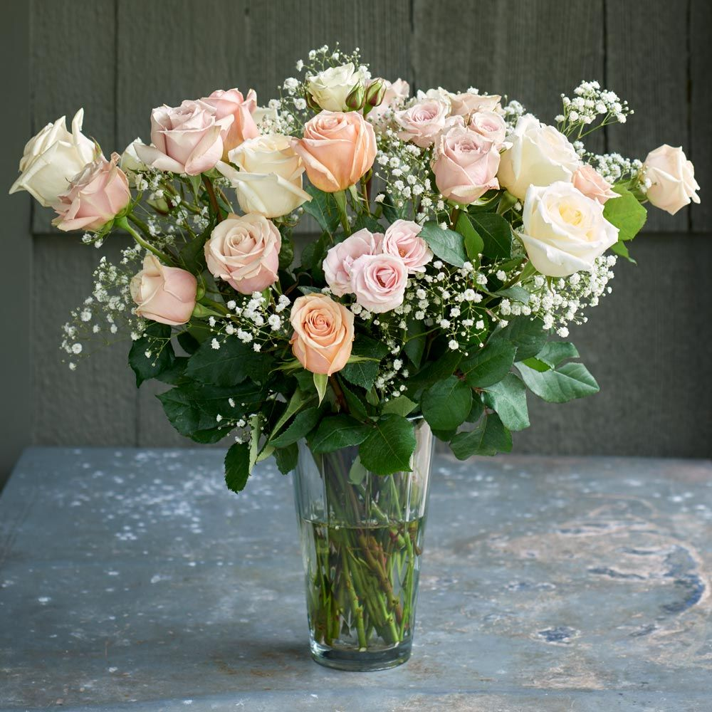 Angel Pink Rose Bouquet