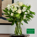 Light of Spring Bouquet with Vase Plus $50 Gift Card - Standard Shipping Included