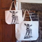 Baby Cow Tote