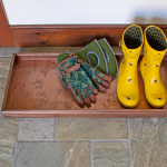 Floral Boot Tray