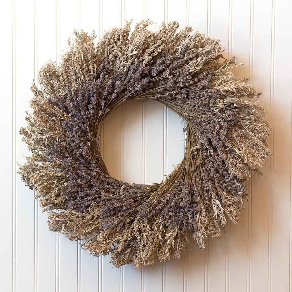 Silver Meadow Wreath