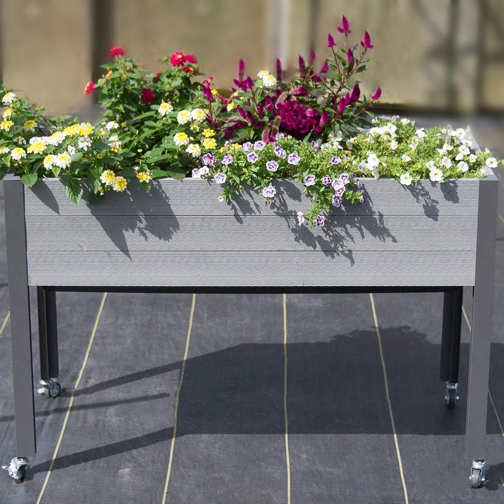 Spruce Self-Watering Elevated Planter