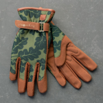 Women's Deluxe Garden Gloves, Green Oakleaf - Standard Shipping Included