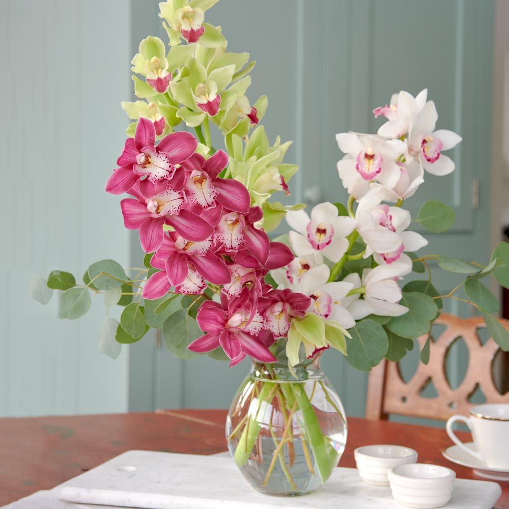 Trio of Cymbidiums Bouquet