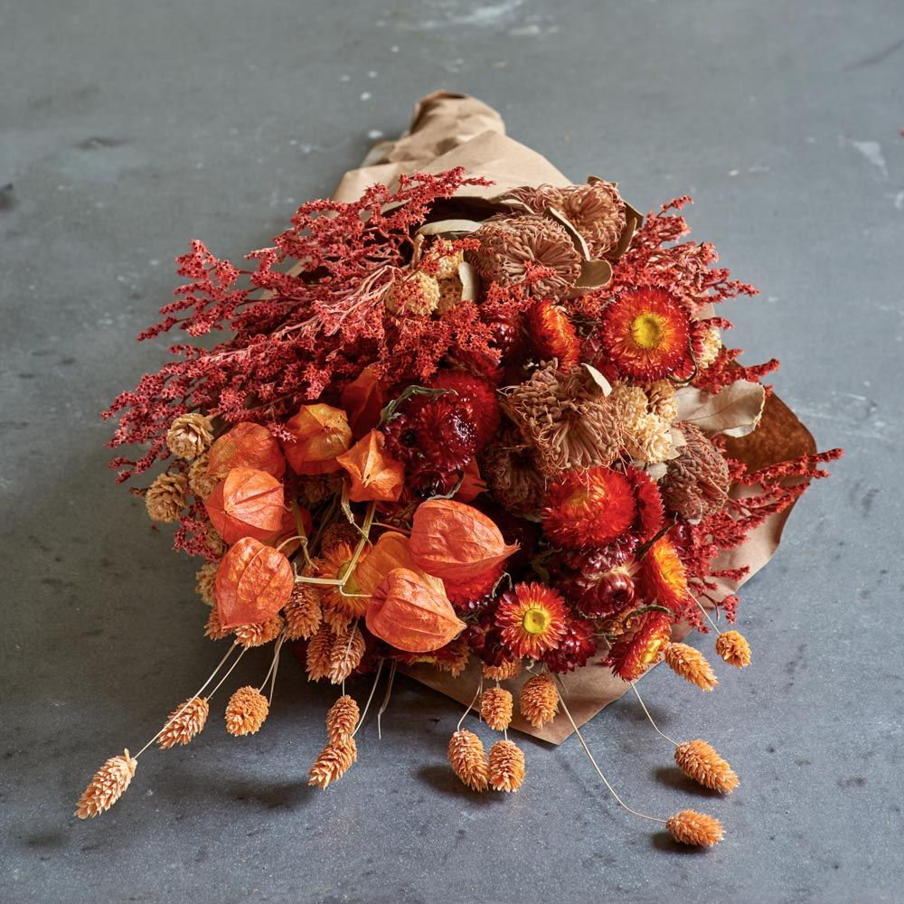 Flame Dried Bouquet