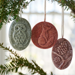 Scented Wax Medallions, set of three