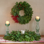 Canterbury Holiday Wreath and Centerpiece