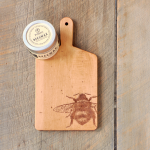 Vermont Maple Bee Board and Beeswax Wood Conditioner