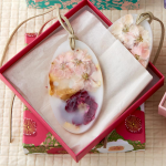 Peony Botanical Wax Sachets, set of 2
