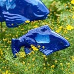 Cobalt Ceramic Fish