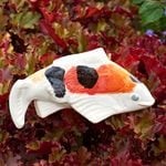 Koi Ceramic Fish, Set of 3