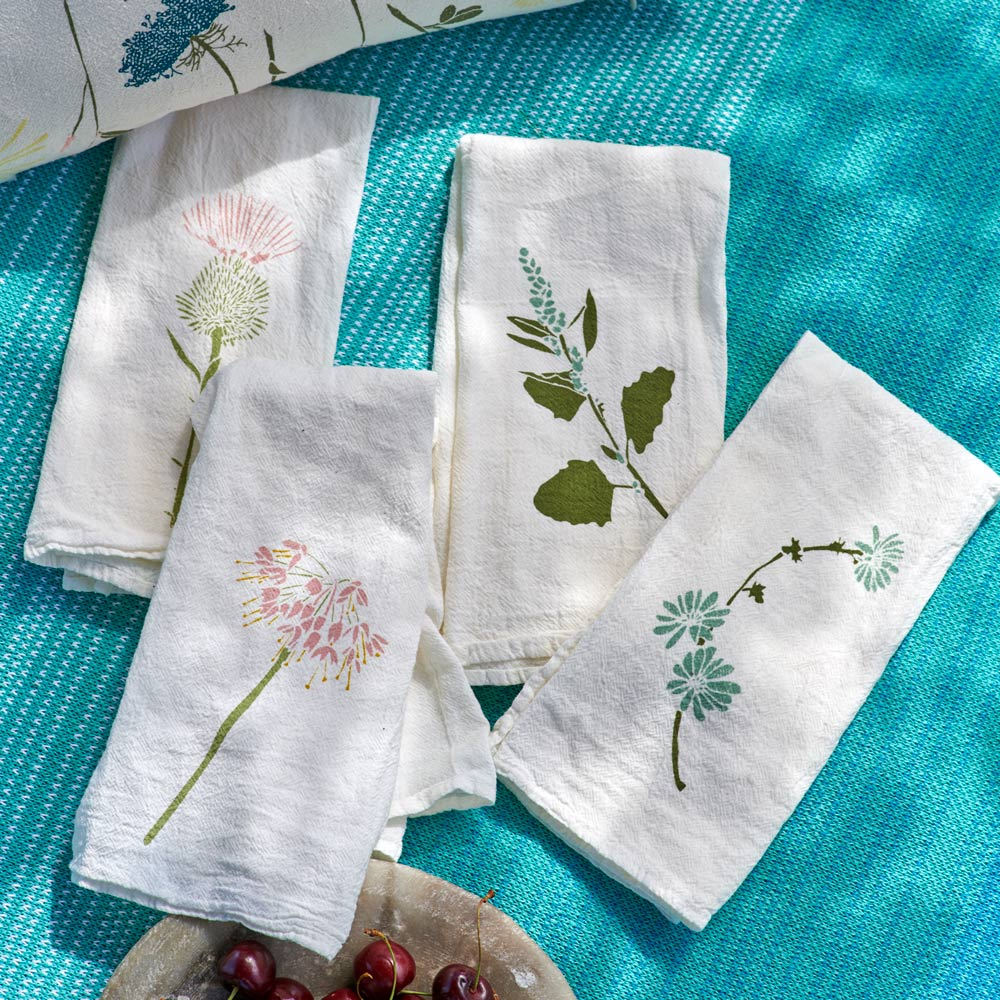 Floral Picnic Napkins - Set of 4