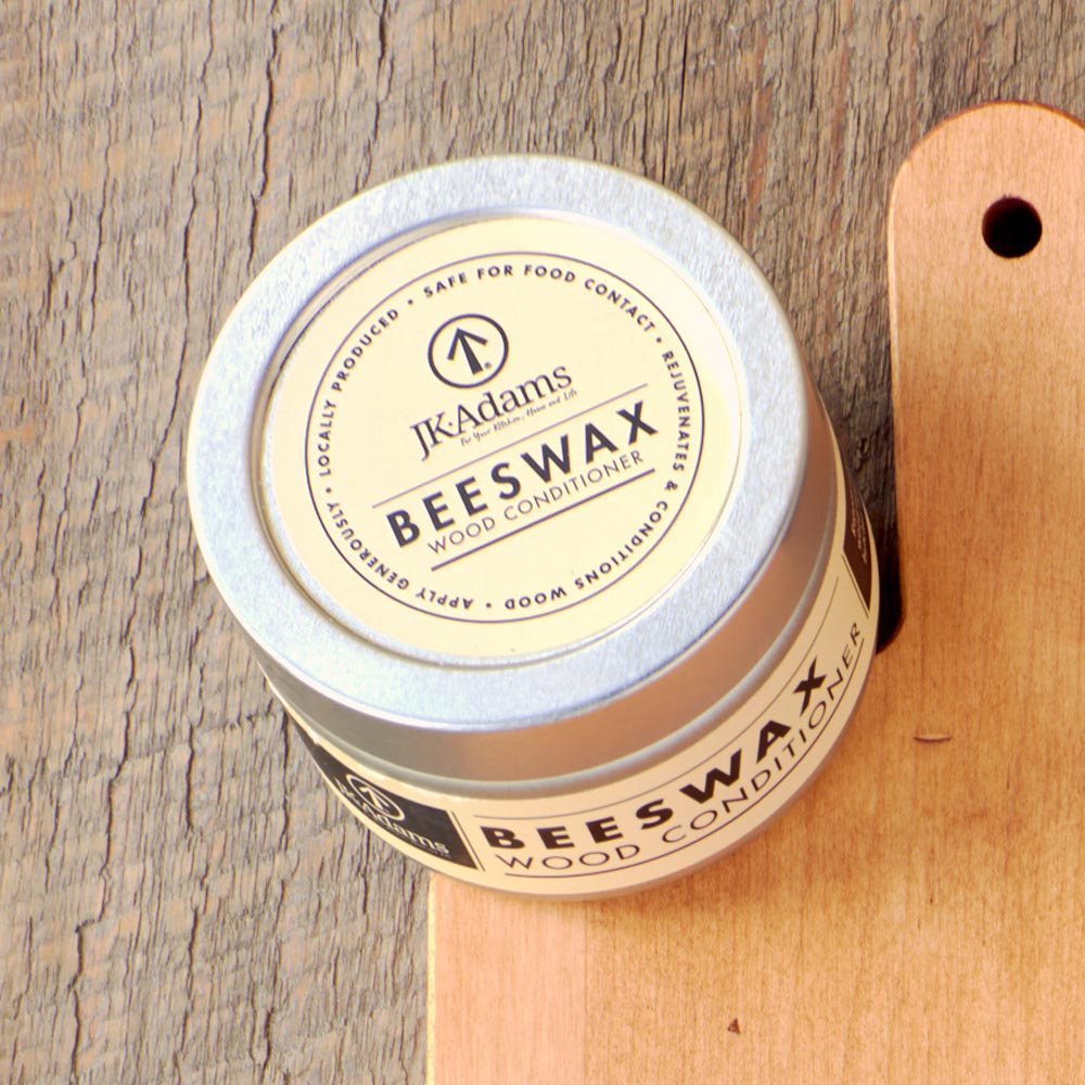 Vermont Beeswax Wood Conditioner