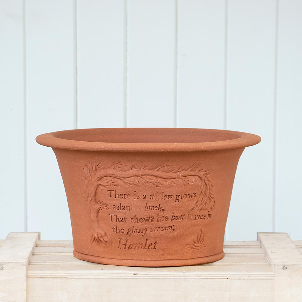 Shakespeare Anniversary Pot