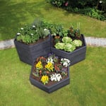 Stackable Hexagon Raised Bed