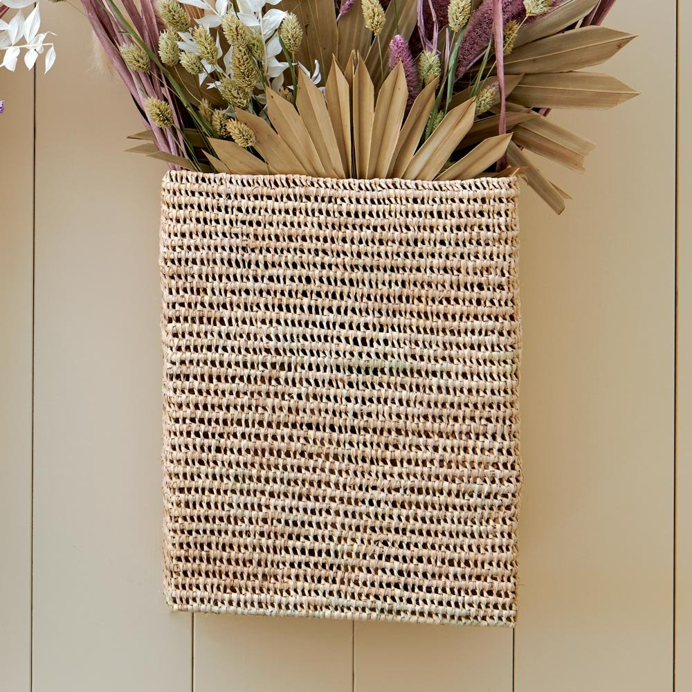 Marrakesh Handwoven Wall Basket