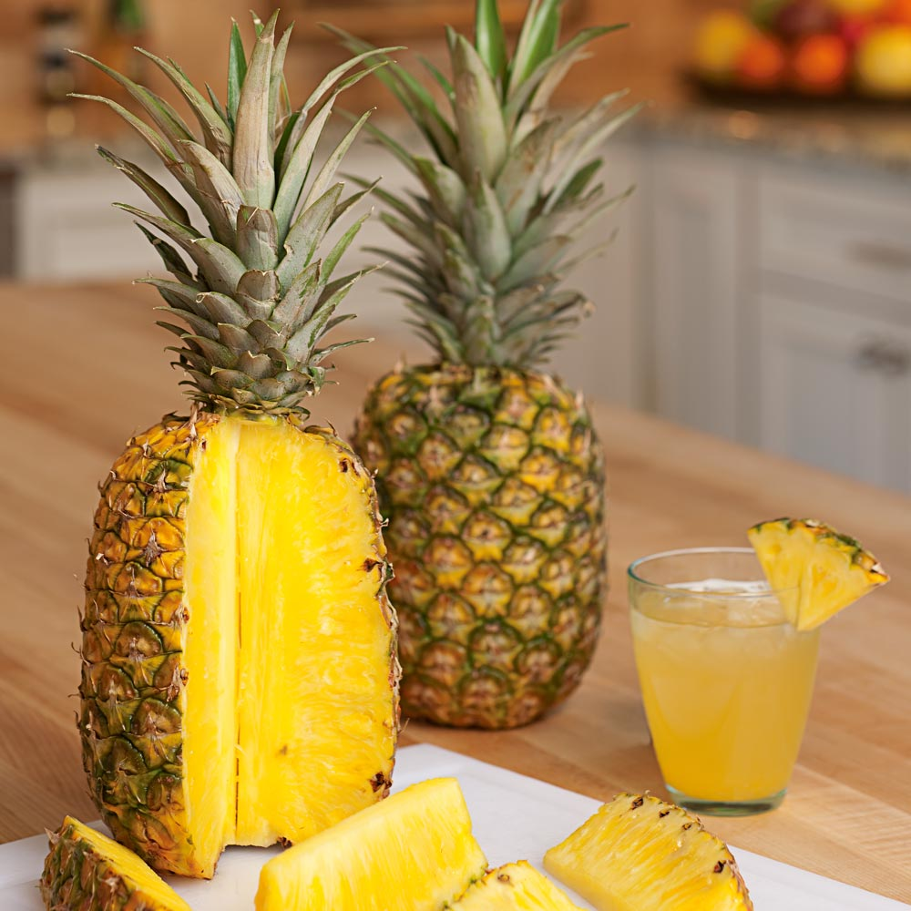 Tropical Gold® Pineapples from Hawaii   White Flower Farm