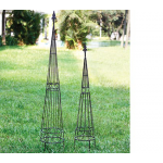 Metal Trellis Towers, set of 2
