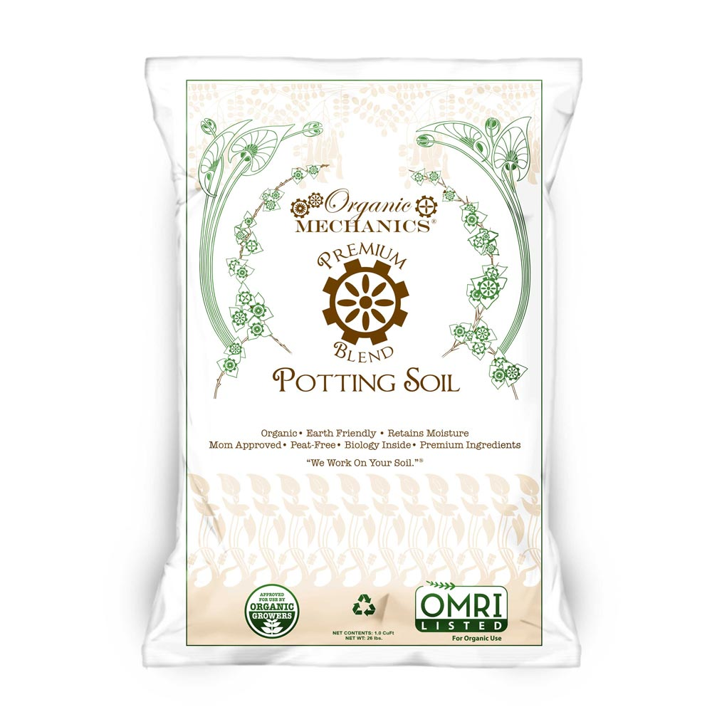 Organic Mechanics® Premium Blend Potting Soil
