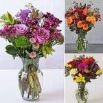 Months of Colorful Mixed Flower Bouquets