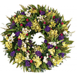 Summer Garden Dried Wreath