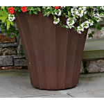 All-weather Fluted Planter