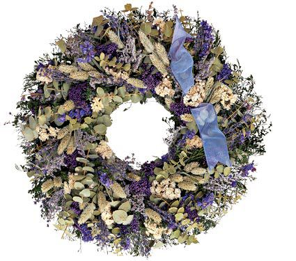 Lavender Fields Wreath