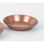 Copper-Finish Saucers