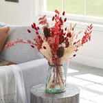 Candy Cane Dried Bouquet