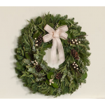Eucalyptus & Cream Wreath