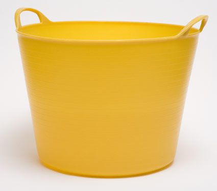Yellow Tub Trug