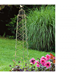 Trellis Trio With Bird Finials