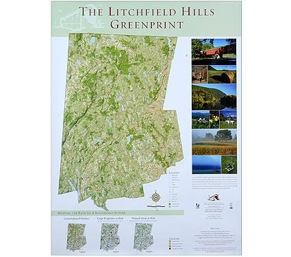 Greenprint Map Of Litchfield County