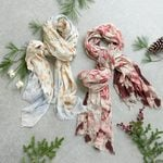 Floral Scarf - Standard Shipping Included