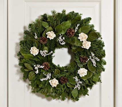 Victorian Holiday Wreath