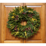 Golden Greens Wreath, 24