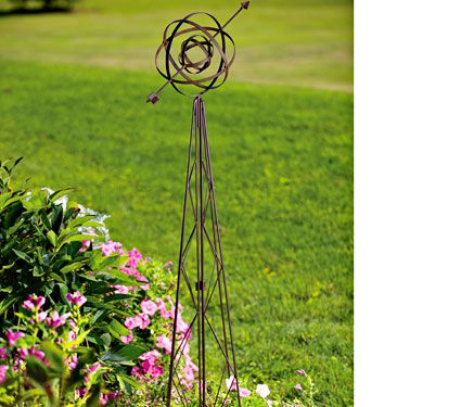 Armillary Garden Ornament White Flower Farm