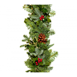 Holly & Greens Garland