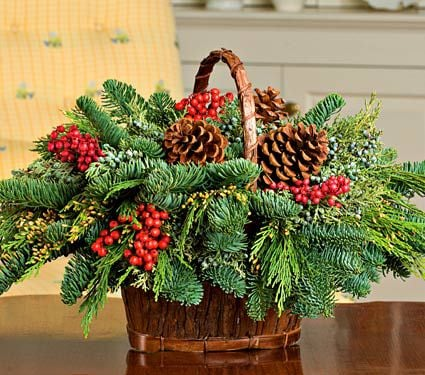 Canella Berry Table Basket